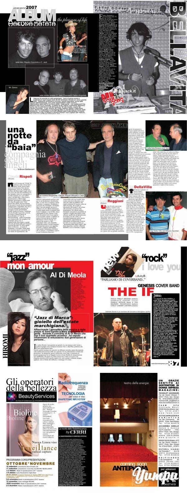 https://www.donnaimpresa.com - Donna Impresa Magazine - Magazine with 5 pages: c'è - Donna Impresa Magazine