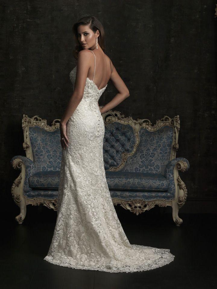 Allure Bridals 8959 Vintage Lace Wedding Dress