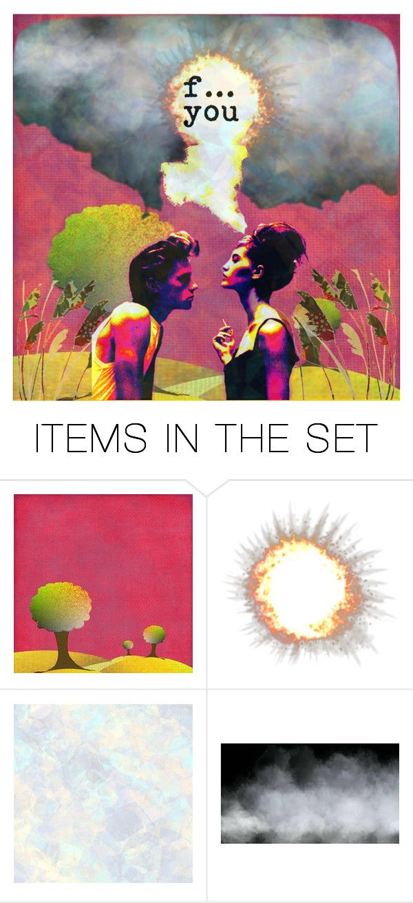 """""""it all went up in smoke"""" by jazzy ❤ liked on Polyvore featuring art"""