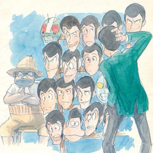 ルパン三世  大塚康生 - Monkey Punch | Kazuhiko Katō