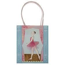 Meri Meri Ballet Party Bags | Ballet themed party Supplies – available at www.buildabirthday.co.nz