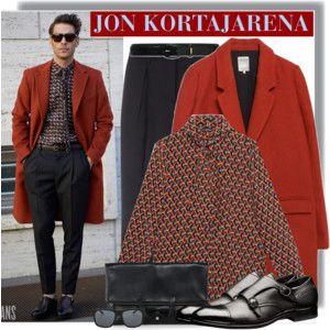 Jon Kortajarena In Gucci After Ferragamo Show , MMFW16