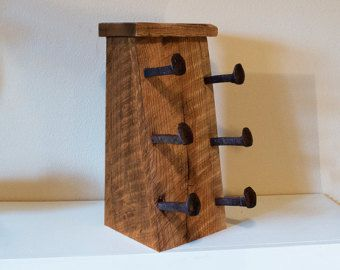 Toallero madera rústica suspensión de la por TumbleweedCabin