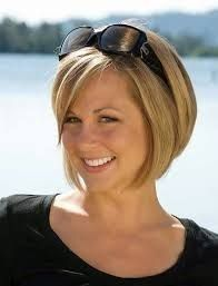 Frisur für dünnes haar und schmales gesicht #Fri…