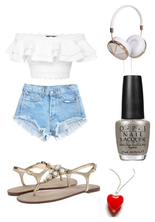 """#I♥summer"" by ishita2427 ❤ liked on Polyvore featuring moda, Lilly Pulitzer, Frends, OPI e Alexander McQueen"