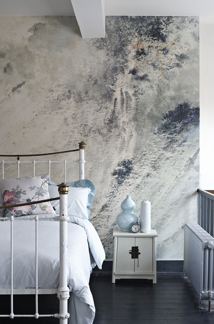 'Waterfall in a High Mountain' Mural - Ashmolean Collection | Shop Cushions & Wall Murals at surfaceview.co.uk