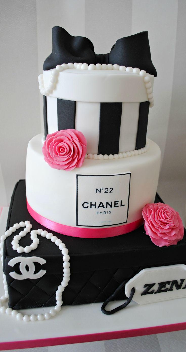 Chanel Present Box Cake