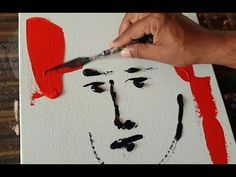 Face / Abstract painting demonstration / Satisfaction / Project 365 days / Day No. 0291 – YouTube