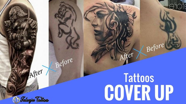 Tattoo Cover Up para esos Tatuajes feos, horribles y mal hechos que odia...