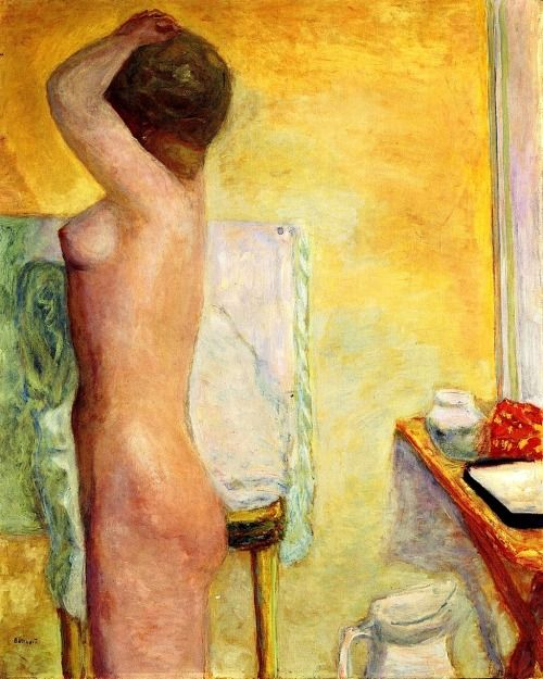 Bonnard: Nude with Yellow Background 1915
