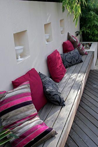 Diseño de jardín moderno en Londres 2. COmo mi jardín, los ventanucos, el,pasillo,.....