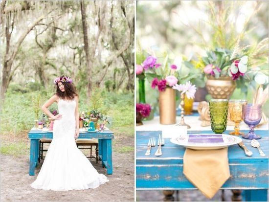 wedding inspiration diaporama ideas bohemian