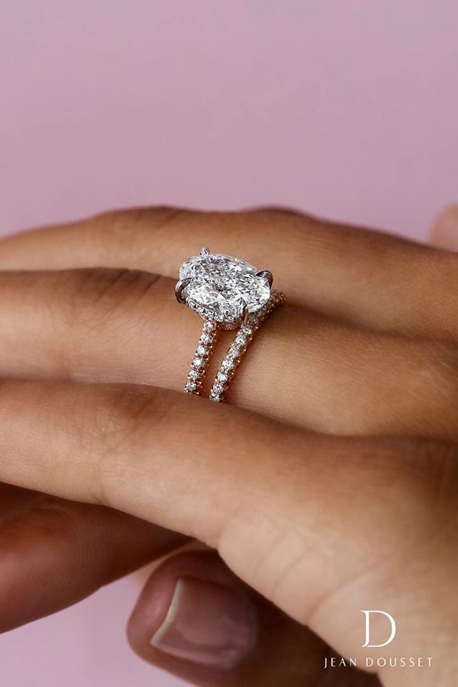30 Wedding Ring Sets That Make The Perfect Pair Oval Diamond