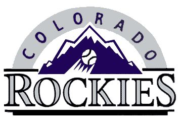 Colorado Rockies original logo  1991-1992