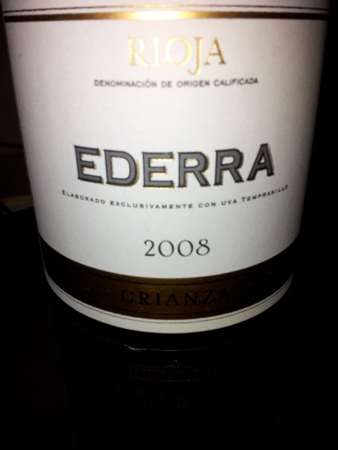 Ederra Crianza 2008