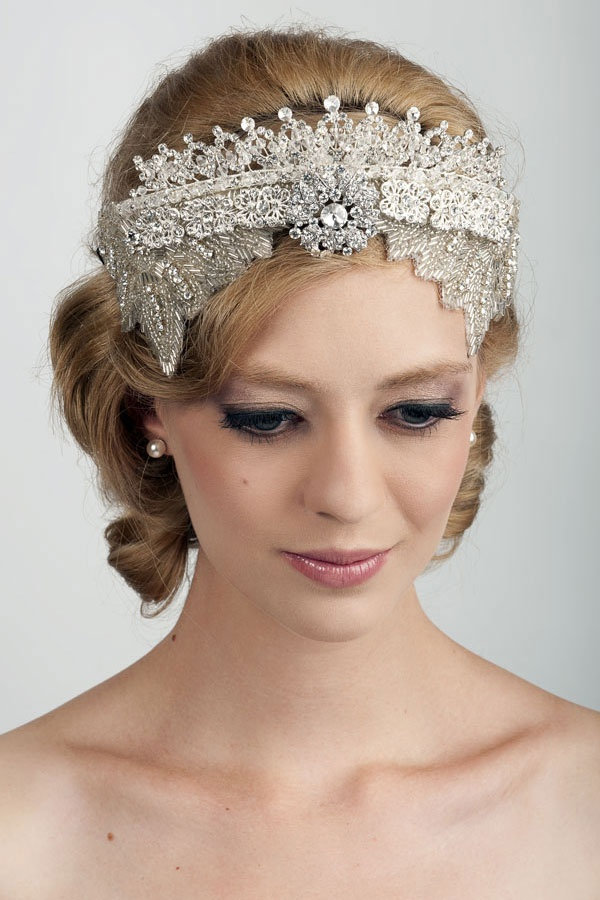 Viktoria Novak, bride, bridal, wedding, headpiece, millinery