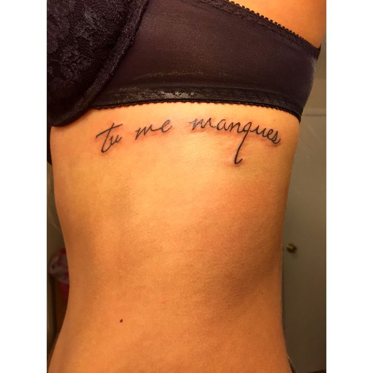 """you are missing from me"" remembrance tattoo for my dad"