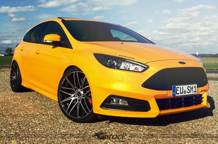 Ford Focus ST mit Brock B34 SGVP #Brock #Brockwheels #Wheels #Tuning #B34 #Ford #Focus #ST #FordFocus