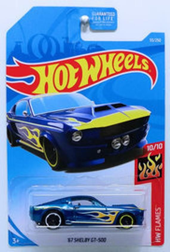 Hot Wheels 67 Shelby Gt 500 2019 Hw Flames Series Ford Shelby Gt 500 Shelby Gt Hot Wheels