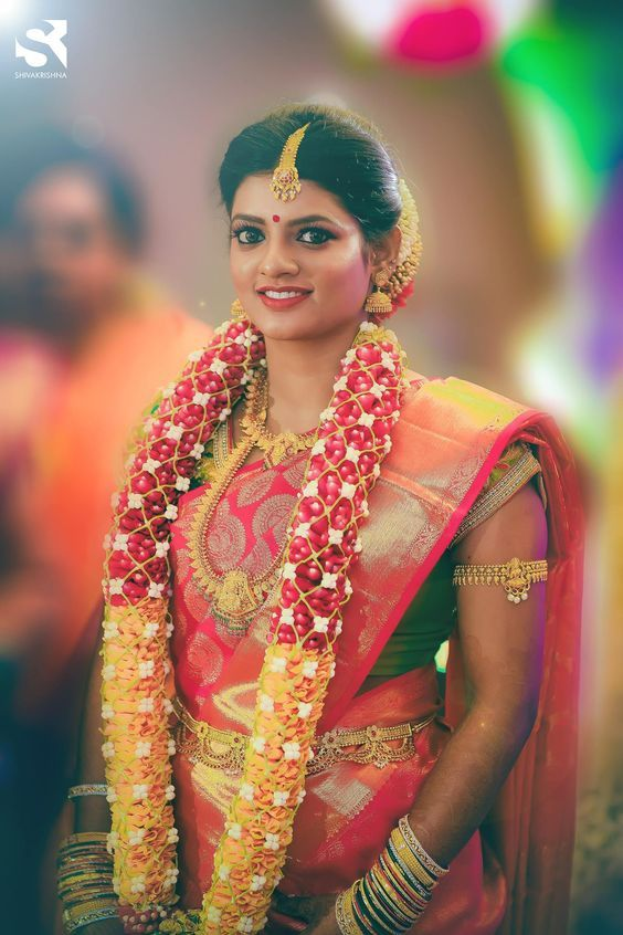 Image Result For Orchid Garland For Wedding Flower Garland Wedding South Indian Bride Garland Wedding
