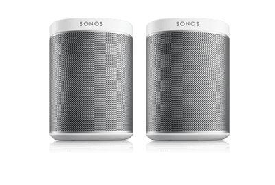 Sonos PLAY:1s 2 Room Music System black