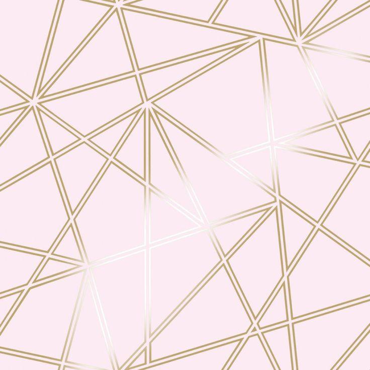 Holden Decor Paladium Dusky Pink Wallpaper 90115