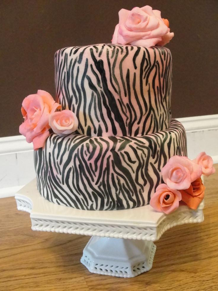 Zebra print cake for my momma: Cakes Celebrity, Cakes Ideas, Cakes Art, Amazing Cakes, Cake Ideas, Bday Cakes, 21St Birthday Parties, Beautiful Cakes, Birthday Cakes