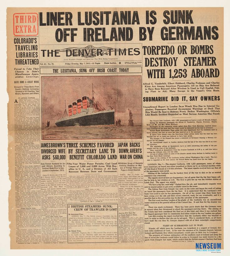 9 Best Images About Lusitania On Pinterest