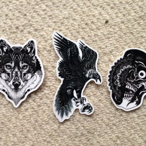New stickers and badges now available to buy go to imillustrations bigcartel com