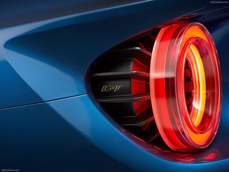 2017 Ford GT supercar - tail light