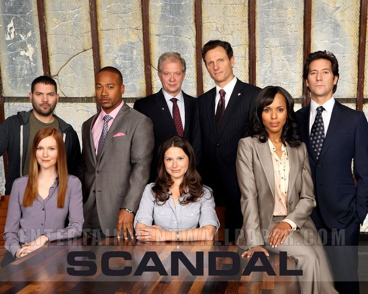 Scandal - must see tv.