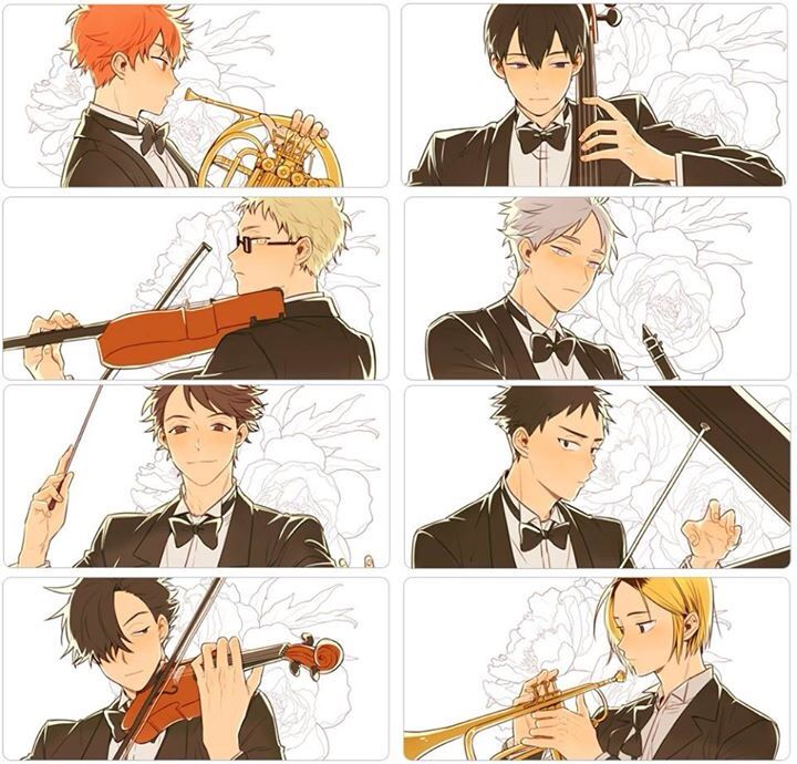 CONDUCTOR OIKA?!?! PIANIST IWA?!?! CELLIST KAGS?!?! VIOLINIST KUROO?!?! *screams into the abyss*