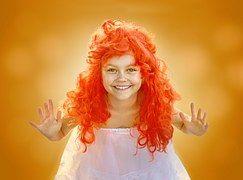 Girl, Happy, Autumn, Bright, Colorful