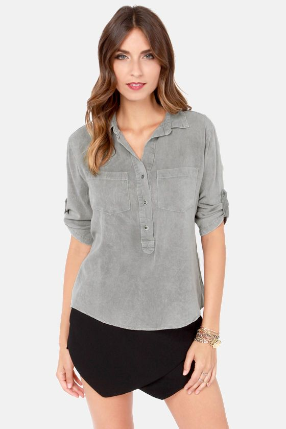 i like the grey and the placket