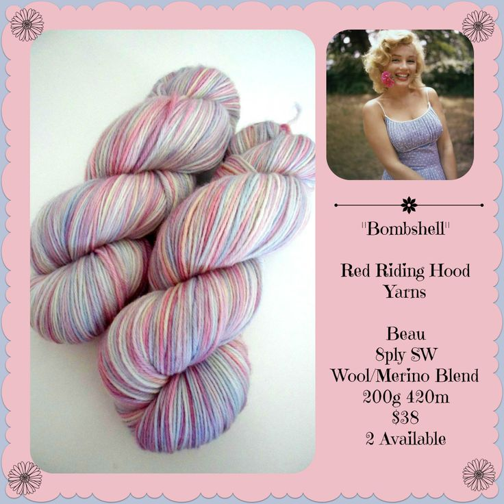 Bombshell - first Triptych stocking | Red Riding Hood Yarns