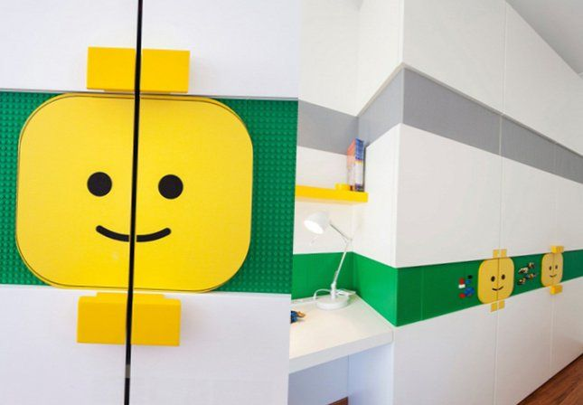 Kids room designed in Lego style - My-Sweet-House