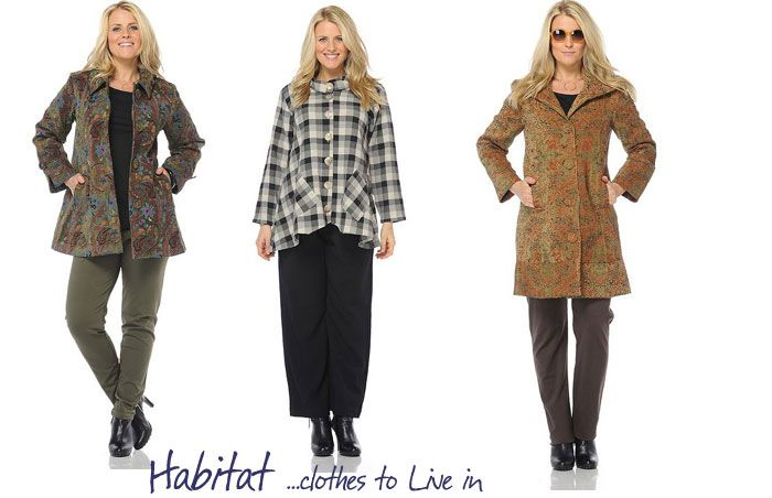 Habitat clothes to live in stores