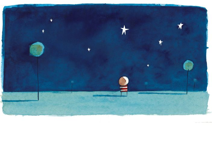 How to catch a star...Z and K LOVE reading all of Oliver Jeffers books.   His art is fantastic as well!