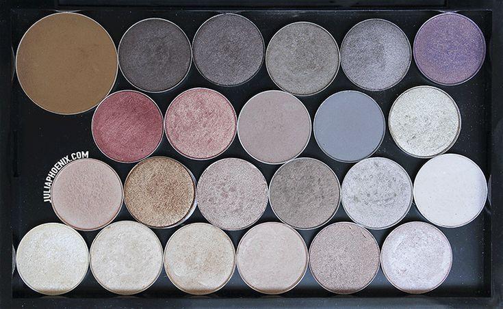 Mi paleta de sombras neutras | Mac, MakeupGeek y otros