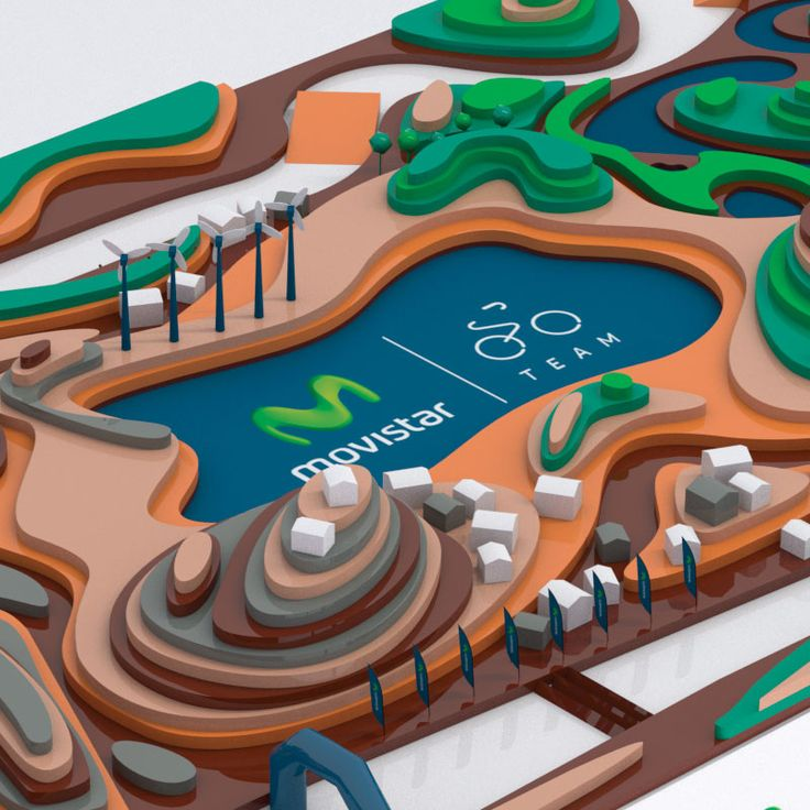 #3D interactive mock-up based on the traditional bottle caps game. Project developed for Movistar Team.