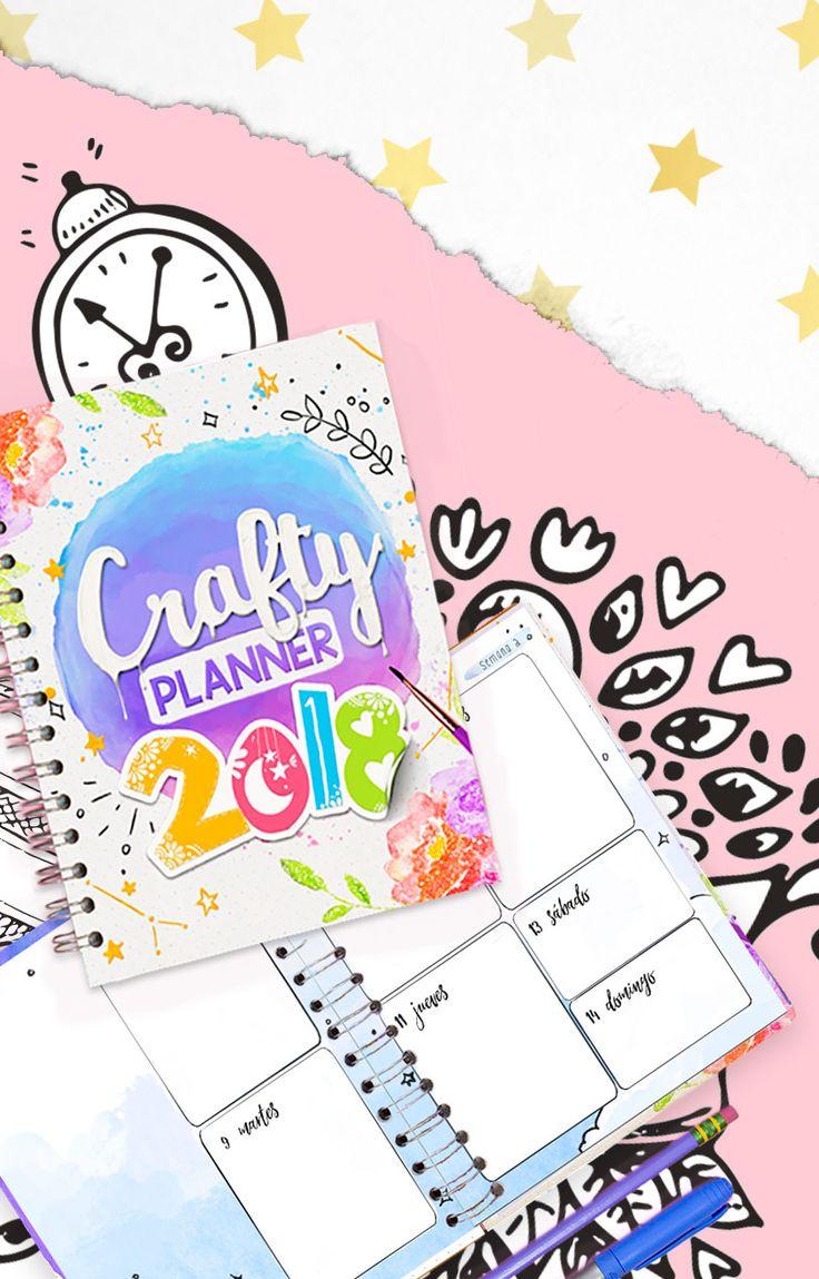 Llegó la Crafty Planner 2017, la agenda para organizar tu vida de una forma creativa ¡inspira tus días!