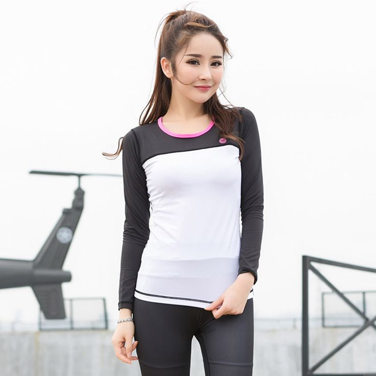 Find More Yoga Shirts Information about Sports Jackets Gym Yoga Top Shirt Soft Long sleeved Fitness Sportswear Yoga mujer Camisetas Running gym sport shirt women ,High Quality shirt women,China yoga top Suppliers, Cheap women gym sports shirt from BORIS DIAW Store on Aliexpress.com