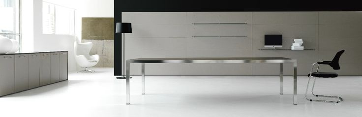 FLY executive desk by IVM & chair by TCC