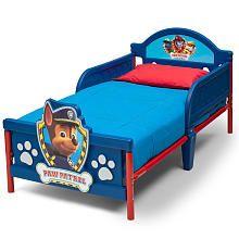 Nickelodeon Paw Patrol 3D Toddler Bed