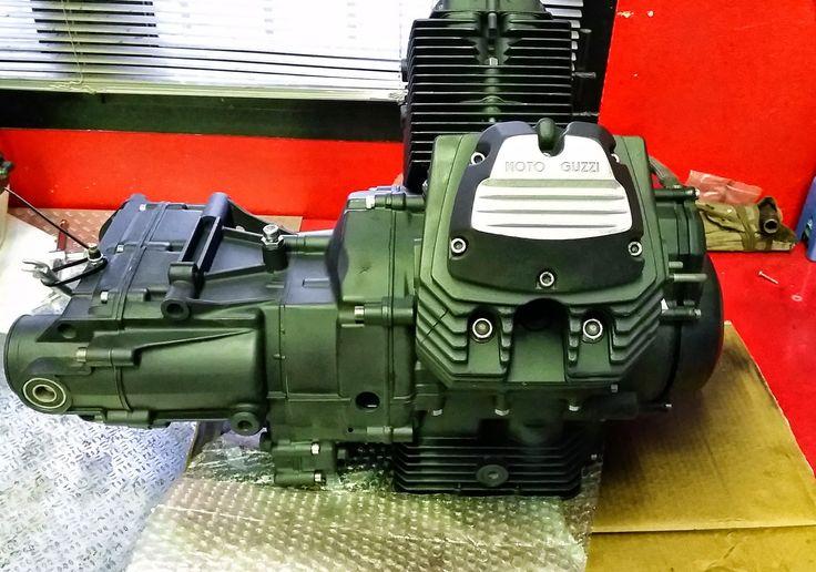 Moto Guzzi V65 blocco motore/cambio