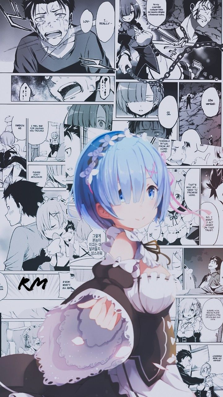 Pin De Osirisplays Em Rem Re Zero Animes Wallpapers Anime