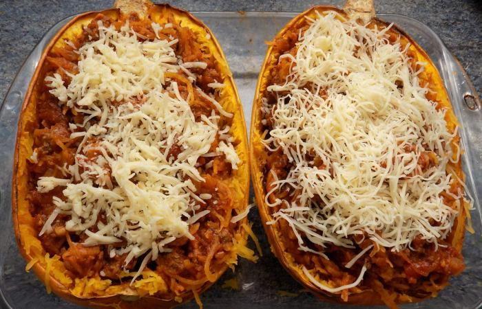 Les 25 meilleures id es de la cat gorie courge spaghetti sur pinterest cuisson de spaghetti de - Cuisiner courgettes poele ...
