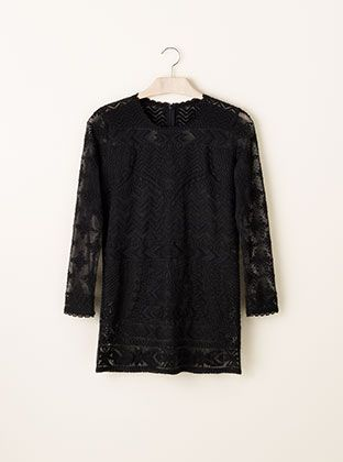 The Isabel Marant for H&M collection debuts tomorrow, filled with variations on many of her most popular pieces (suede ankle boots, laced leather pants, embroidered jeans). I like this fitted lace top, which I could easily see over slim cropped black trousers or skinny jeans.