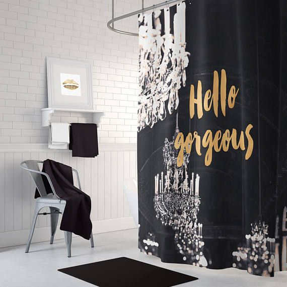 Best 25 Gold Shower Curtain Ideas On Pinterest