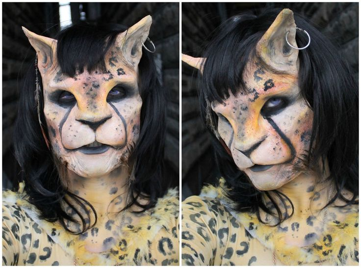 73 Best Animal Prosthetics Makeup Images On Pinterest